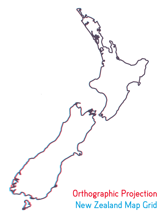 Line Drawing New Zealand Map : Outline map of new zealand vector images frompo